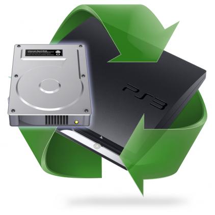 Remplacement disque dur PS3