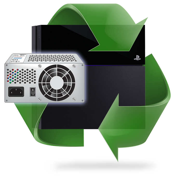 Remplacement alimentation PS4
