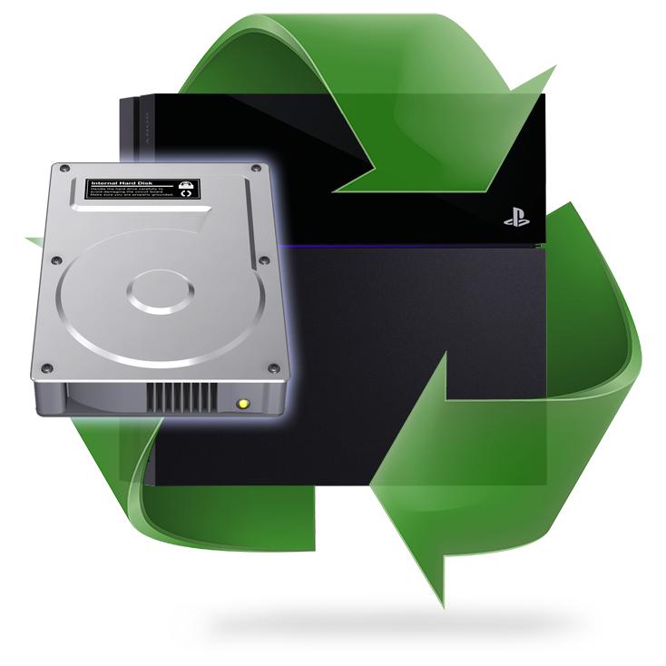 Remplacement disque dur PS4