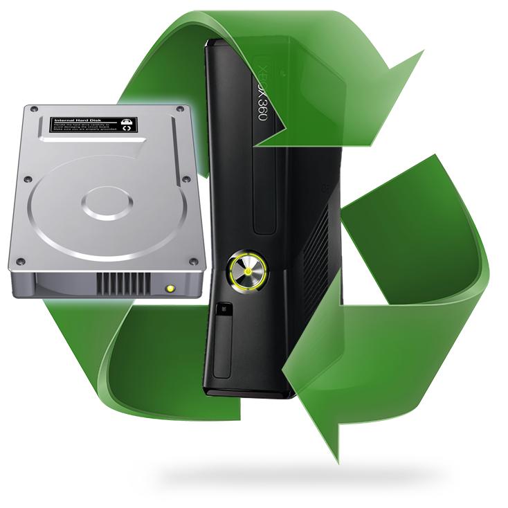 Remplacement disque dur Xbox 360