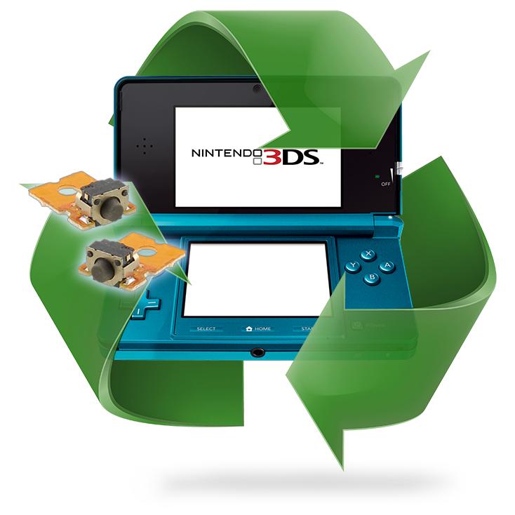Remplacement bouton L/R pour DSL - DSi - XL - 3DS - 3ds xl - 2ds