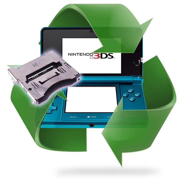 Remplacement port jeu 3DS - 3DS XL - 2DS - DSi - DS Lite