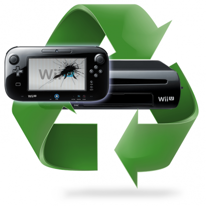 Remplacement écran LCD Mablette Wii U