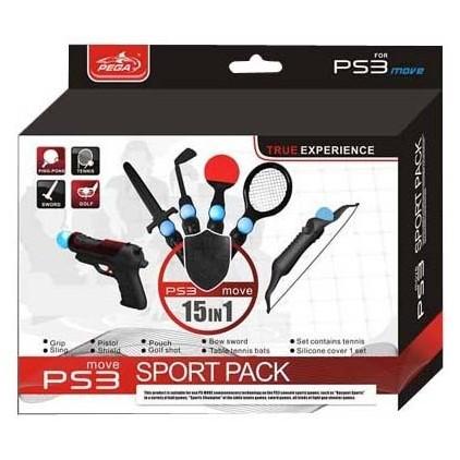 Kit accessoires 15 en 1 PS Move