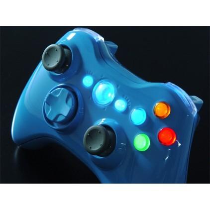 Manette lumineuse Xbox 360