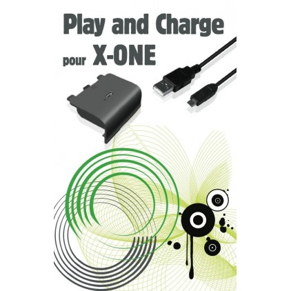 Kit Play & charge Xbox One - Batterie Adaptable