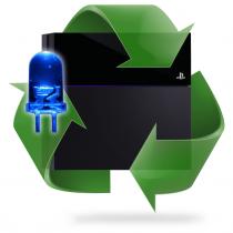 Réparation BLOD PS4 - Lumière bleue