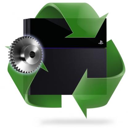 Réparation mécanisme lecteur PS4