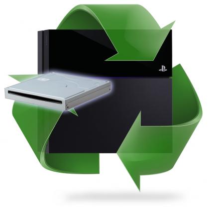 Remplacement lecteur bluray PS4