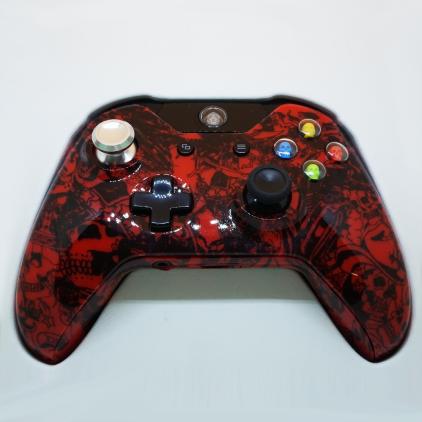 Manette Xbox ONE customisée - Motifs Skull
