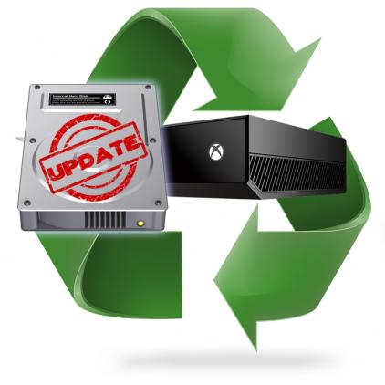 Ré-installation système Xbox One - E100, E101, E200