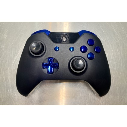 Manette Xbox ONE customisée - black-blue