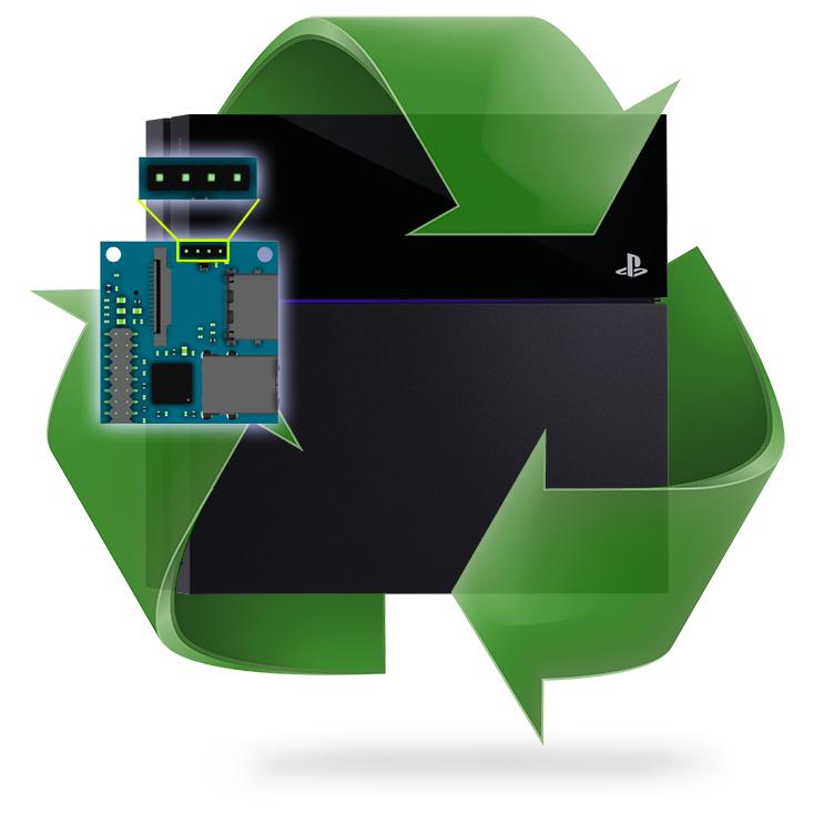 Remplacement connecteur alimentation carte mère PS4