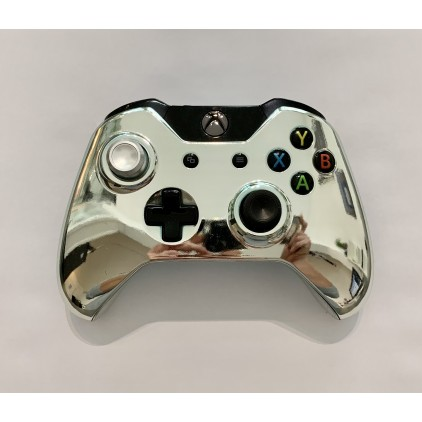 Manette Xbox ONE customisée - Azur Chrome